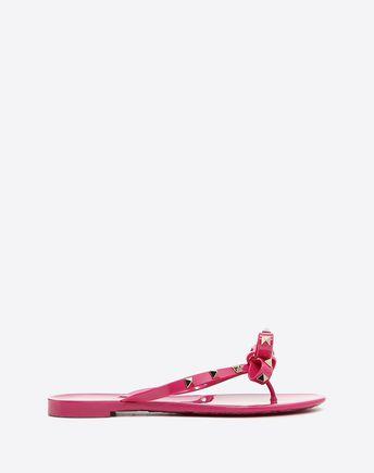 VALENTINO Rockstud PVC Flip Flop 45335815FW