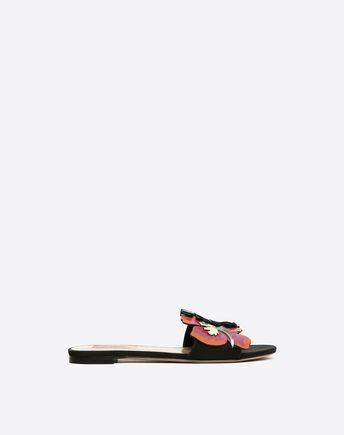 VALENTINO Decorated Slide Sandal 45335932WU