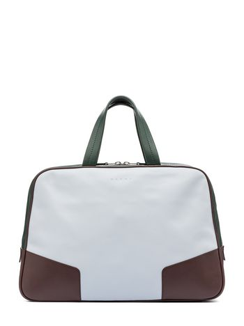 Marni Travel bag in calfskin Man