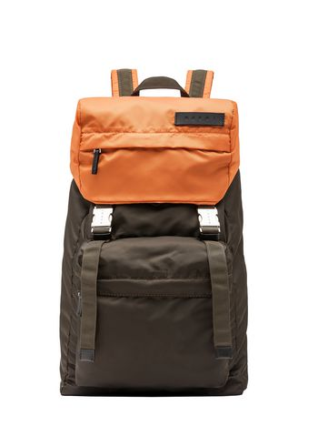 Marni Backpack in two-tone nylon  Man
