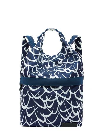 Marni Nylon backpack Flutter print Man