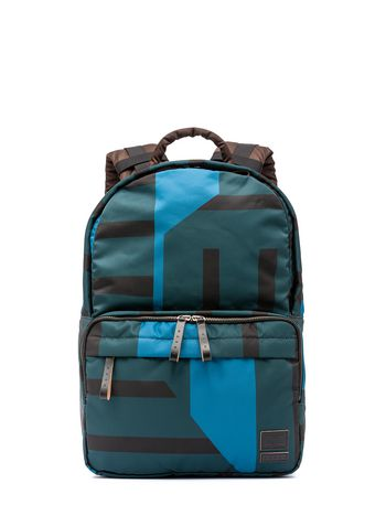 Marni PORTER backpack in color-block nylon Man
