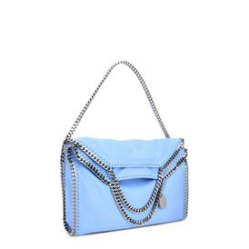 Falabella Fold Over Tote in Chamois