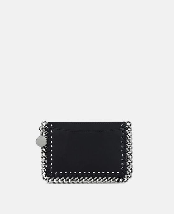 Black Alter Nappa Card Holder