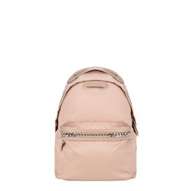 STELLA McCARTNEY Falabella Backpacks D Powder Pink Falabella GO Backpack f