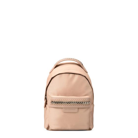 Mini-sac à dos Falabella GO rose poudre