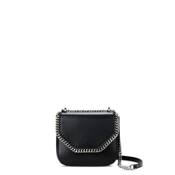 Black Falabella Box Mini Shoulder Bag