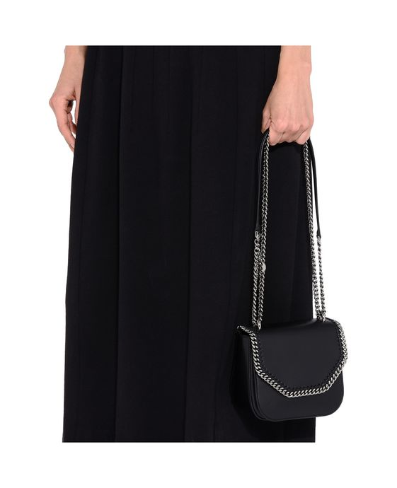 STELLA McCARTNEY Black Falabella Box Mini Shoulder Bag Mini Bags D p