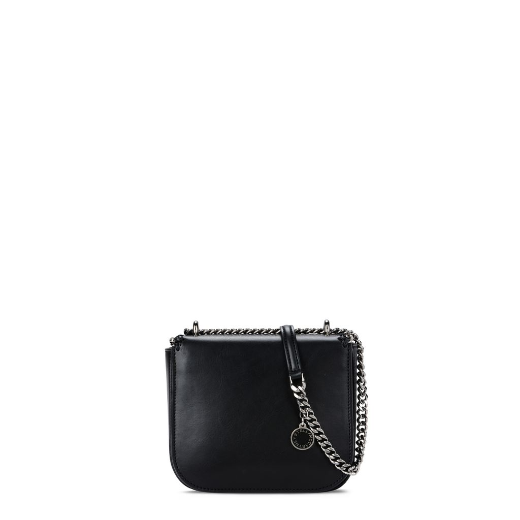 Black Falabella Box Mini Shoulder Bag - STELLA MCCARTNEY