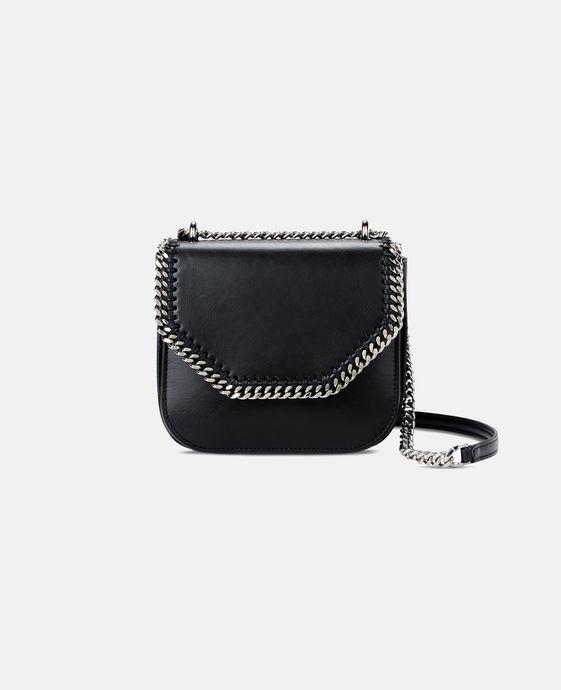 STELLA McCARTNEY Black Falabella Box Mini Shoulder Bag Mini Bags D c