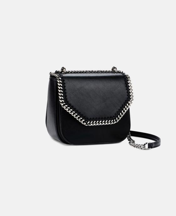 STELLA McCARTNEY Black Falabella Box Mini Shoulder Bag Mini Bags D h