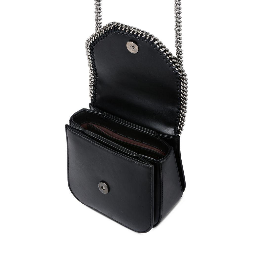 Mini-sac porté épaule Falabella Box effet noir - STELLA MCCARTNEY