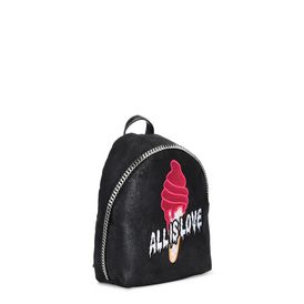 Black Sport Surf Small Backpack