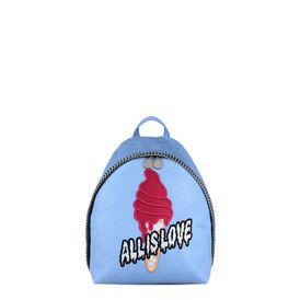 STELLA McCARTNEY Falabella Backpacks D Sky Blue Sport Surf Small Backpack f