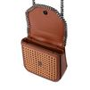 STELLA McCARTNEY Tan Falabella Box wicker Medium Shoulder Bag  Falabella Shoulder Bags D e