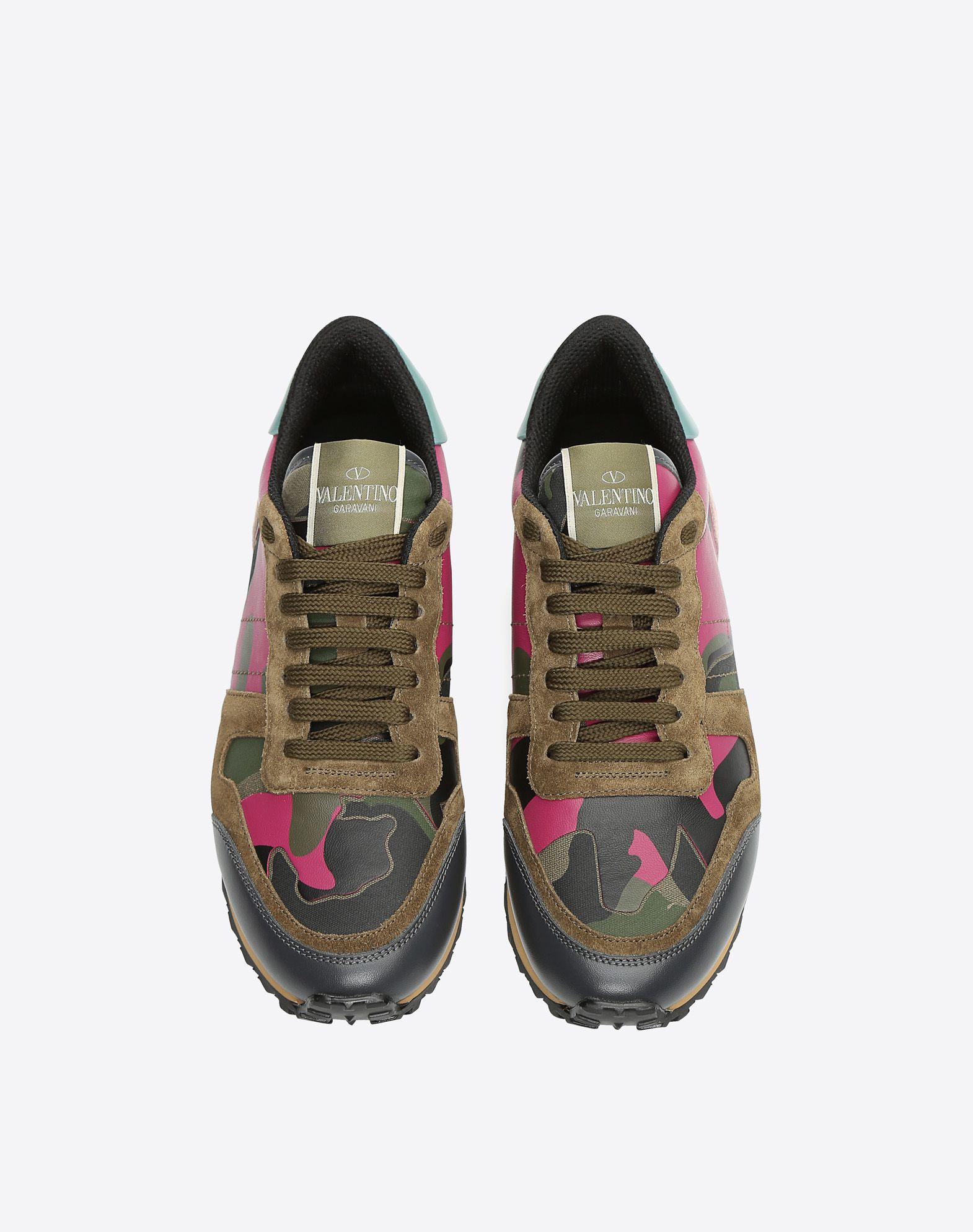 Valentino Women's Camouflage Low Top Sneaker