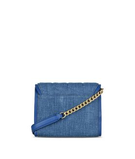 KARL LAGERFELD K/KUILTED DENIM CROSSBODY