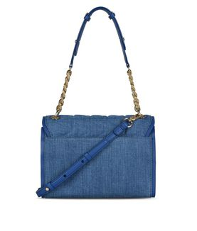 KARL LAGERFELD K/KUILTED DENIM HANDBAG