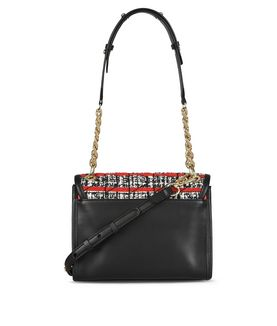 KARL LAGERFELD K/KUILTED TWEED MINI HANDBAG