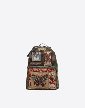 VALENTINO Camouflage Backpack 45337683KO