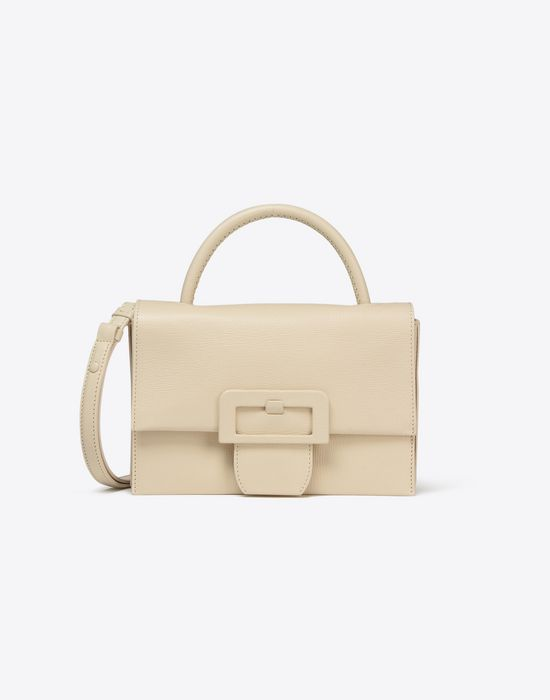 d09bebfef3 MAISON MARGIELA 11 Small textured leather handbag with front buckle Handbag       pickupInStoreShipping info