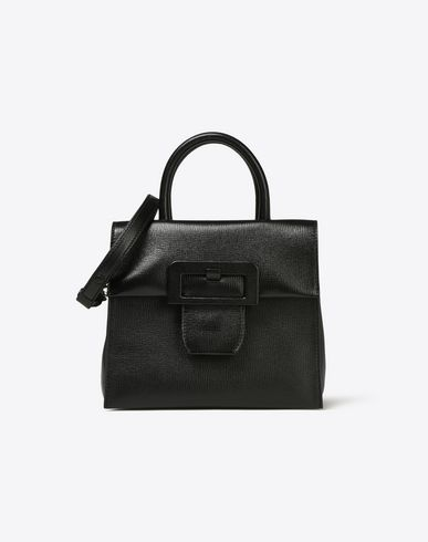 MAISON MARGIELA 11 Small leather handbag with front buckle Handbag D f