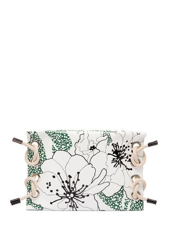 Marni Clutch SATELITE in printed PVC Woman