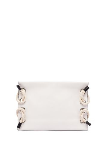 Marni Runway SATELITE calfskin clutch bag Woman