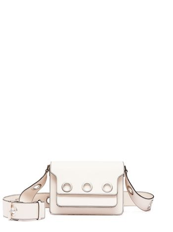 Marni SATELITE TRUNK calfskin shoulder bag Woman