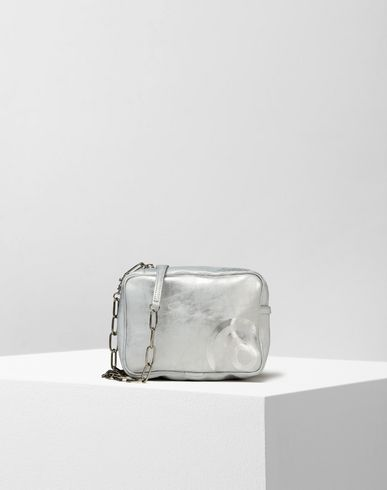 MM6 by MAISON MARGIELA Clutch D Laminated effect pochette f