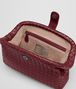 BOTTEGA VENETA THE LAUREN 1980 IN INTRECCIATO NAPPA GIGOLO RED Clutch D dp