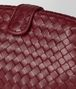 gigolo red intrecciato nappa the lauren 1980 clutch Back Detail Portrait