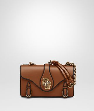 CITY KNOT BAG IN LIGHT CALVADOS CALF