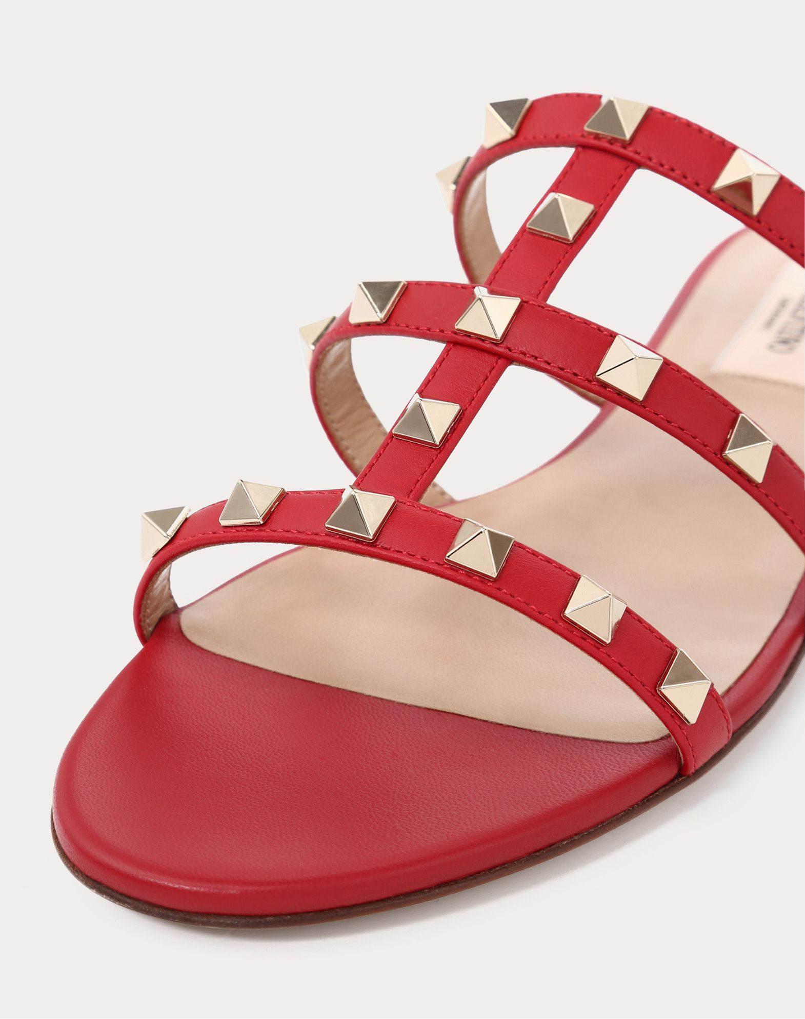 VALENTINO GARAVANI Rockstud Slide Sandal SLIDE SANDAL D a