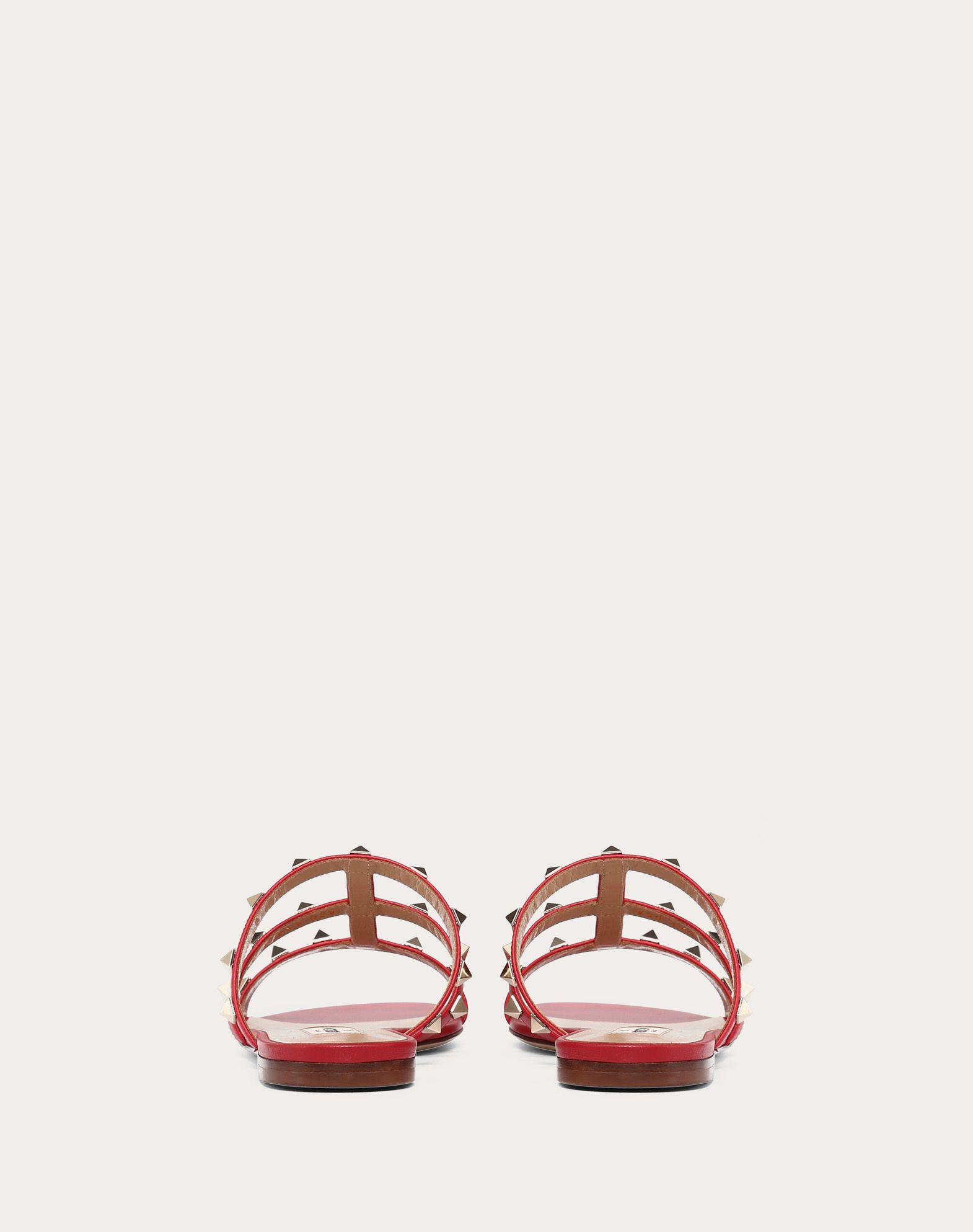 VALENTINO GARAVANI Rockstud Slide Sandal SLIDE SANDAL D d