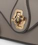 BOTTEGA VENETA CITY KNOT BAG IN STEEL CALF Shoulder Bags Woman ep
