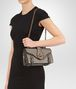 BOTTEGA VENETA CITY KNOT BAG IN STEEL CALF Shoulder or hobo bag D lp