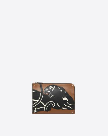 VALENTINO Panther Document Case 45341126HG