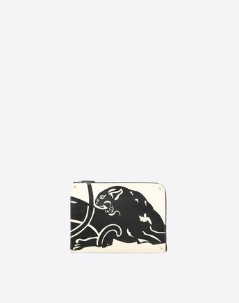 VALENTINO Panther Document Case 45341127DI