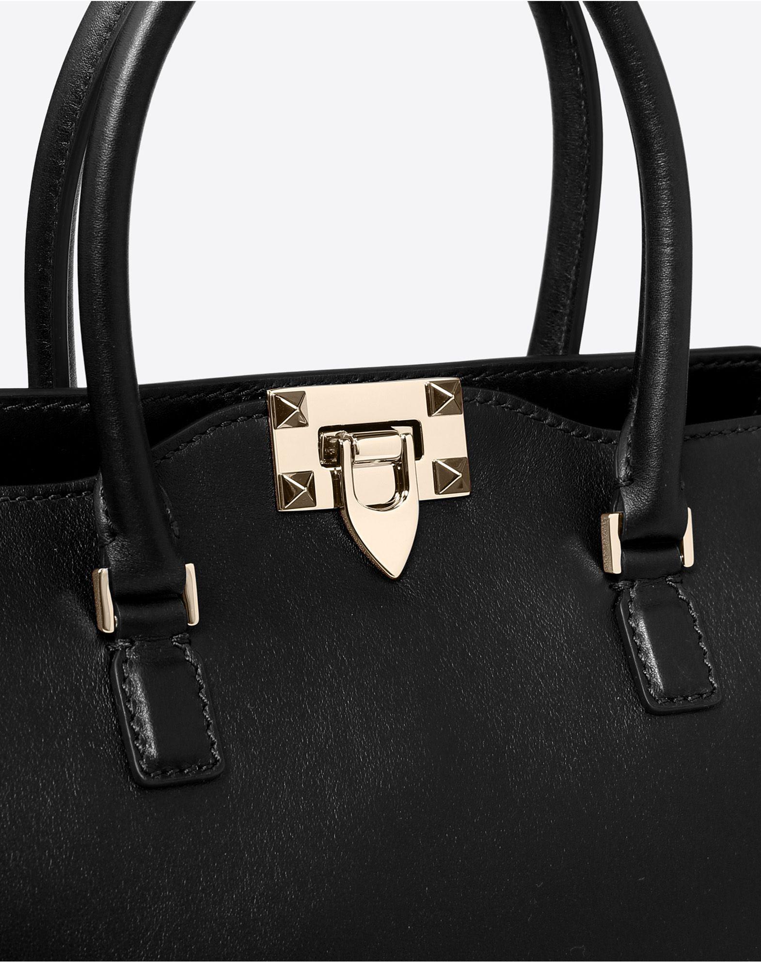 VALENTINO GARAVANI Rockstud Small Handbag HANDBAG D b