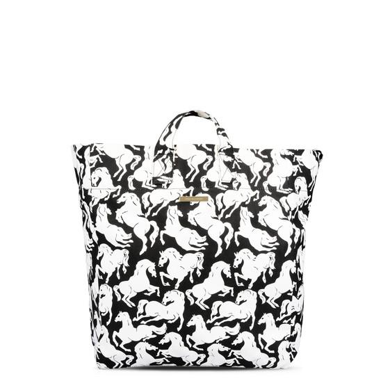 Horses Print Beach Bag