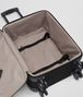 BOTTEGA VENETA TROLLEY IN NERO TECHNICAL CANVAS AND INTRECCIATO CALF Luggage E dp