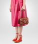 BOTTEGA VENETA CITY KNOT BAG IN CALVADOS GOAT, EMBOSSED BUTTERFLIES DETAILS Shoulder Bag Woman ap
