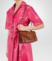 BOTTEGA VENETA CITY KNOT BAG IN CALVADOS GOAT, EMBOSSED BUTTERFLIES DETAILS Shoulder Bag Woman lp