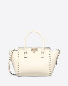 VALENTINO GARAVANI HANDBAG D Rockstud Small Double Handle Bag f