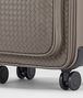 BOTTEGA VENETA TROLLEY IN STEEL INTRECCIATO VN Luggage E ap