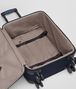 BOTTEGA VENETA TROLLEY IN TOURMALINE TECHNICAL CANVAS AND PACIFIC INTRECCIATO CALF Trolley and Carry-on bag E dp