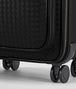 BOTTEGA VENETA TROLLEY IN NERO INTRECCIATO VN Luggage E ap