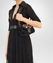 BOTTEGA VENETA BORSA UMBRIA IN VITELLO NERO, STAMPA LEOPARDO Shoulder Bag Donna lp