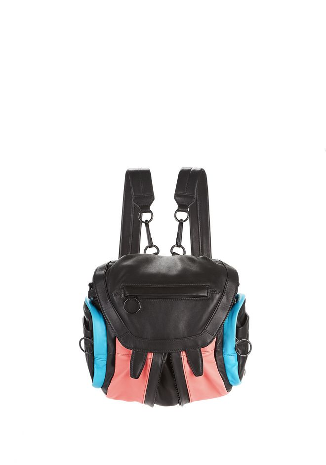 ALEXANDER WANG mini-bags COLOR BLOCKED MINI MARTI BACKPACK WITH MATTE BLACK